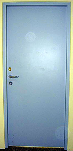 Porta Corta Fogo para casa de máquinas (Blindada) NBR 11742 DM2