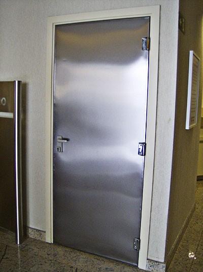 Porta Corta Fogo em Inox NBR 11742